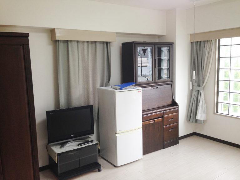 備え付けの家具と家電