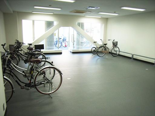 入居者専用駐輪場